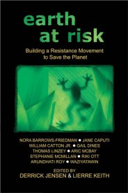 Book cover Earth at Risk: Building a Resistance Movement to Save the Planet.